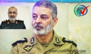 تبریک روز پاسدار توسط فرمانده کل ارتش به سردار سلامی ف کل سپاه
