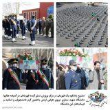 تشییع باشکوه یک قهرمان در مرکز پرورش نسل آینده ارتش