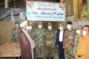 بازدید ف نیروی زمینی ارتش از کارگاه ساخت ضریح شهدای ۷۲ تن در شیراز