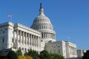 مسدود شدن ساختمان کنگره آمریکا به دلیل تهدید امنیتی