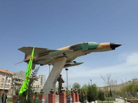 ♦️یادمان شهدای خلبان و فرمانده عملیات اچ۳ در کرمانشاه