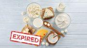 مصرف نکردن مواد غذایی  بعد از تاریخ انقضا