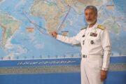 حضور مقتدرانه ناوگروه نیروی دریایی ارتش در اقیانوس اطلس
