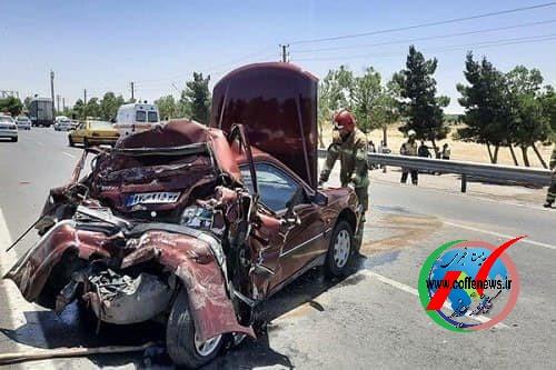 بیش از ۲۵۰۰ نفر ، قربانی حوادث جاده ای در دو ماه نخست امسال