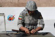 تیم ارتش ایران در مسابقات سلاح سبک اربابان سلاح با اختلاف به مقام اول دست یافت