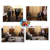 دیدار و گفتوگوی دکتر حسین امیر عبداللهیان با امیرسرلشکر سید عبدالرحیم موسوی فرمانده کل ارتش